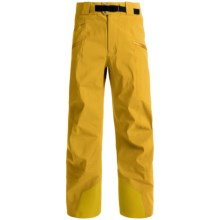 Arc'teryx Sabre Gore-Tex® Pro Hard Shell Pants - Waterproof (For Men) in Golden Palm - Closeouts
