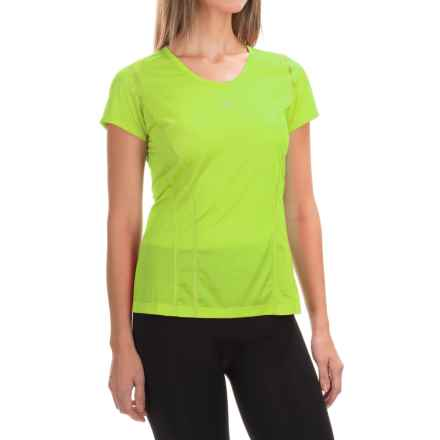 Arc'teryx Sarix Shirt - Short Sleeve (For Women) in Mantis Green - Closeouts