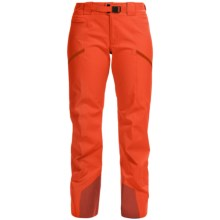 Arc'teryx Sentinel 13 Gore-Tex® Ski Pants - Waterproof (For Women) in Mango Tango - Closeouts