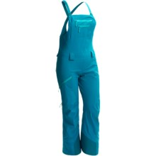 Arc'teryx Sentinel Gore-Tex® Full Bib Ski Pants - Waterproof (For Women) in Cyan Blue - Closeouts