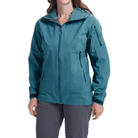 Arc'teryx Sentinel Gore-Tex® Jacket - Waterproof (For Women) in Cyan Blue - Closeouts