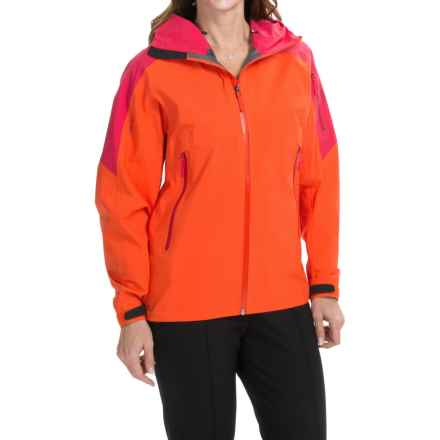 Arc'teryx Sentinel Gore-Tex® Jacket - Waterproof (For Women) in Pink Mango - Closeouts