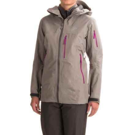 Arc'teryx Shashka Gore-Tex® Jacket - Waterproof (For Women) in Brushed Nickel - Closeouts