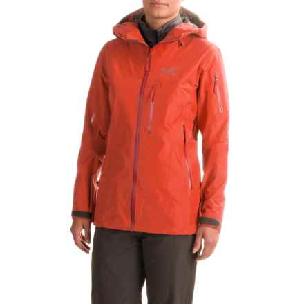 Arc'teryx Shashka Gore-Tex® Jacket - Waterproof (For Women) in Fiesta - Closeouts