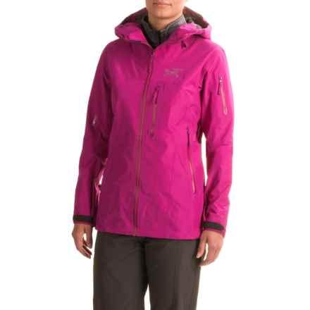 Arc'teryx Shashka Gore-Tex® Jacket - Waterproof (For Women) in Violet Wine - Closeouts