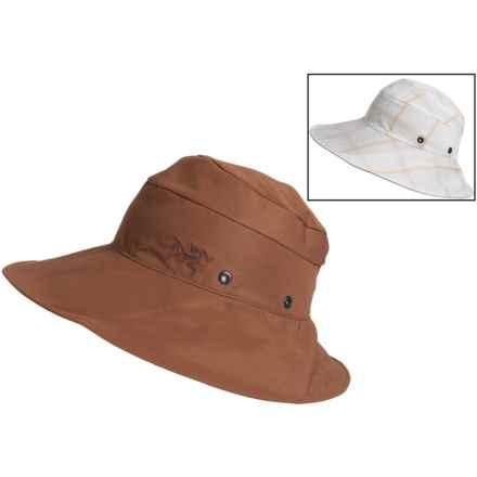 Arc'teryx Sinsola TerraTex Sun Hat - UPF 50 (For Women) in Loam - Closeouts