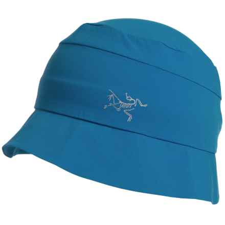 Arc'teryx Sinsolo TerraTex Sun Hat - UPF 50 (For Men and Women) in Borneo Blue - Closeouts