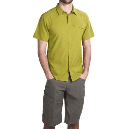 Arc'teryx Skyline Shirt - UPF 50+, Short Sleeve (For Men) in Opuntia - Closeouts