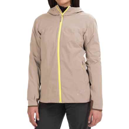 Arc'teryx Solano Windstopper® Jacket (For Women) in Bone - Closeouts