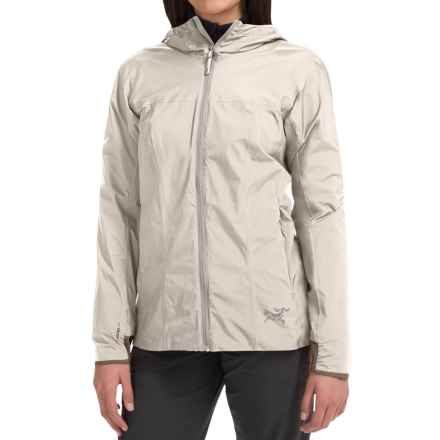 Arc'teryx Solano Windstopper® Jacket (For Women) in Luna - Closeouts