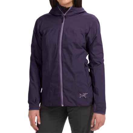 Arc'teryx Solano Windstopper® Jacket (For Women) in Raku - Closeouts