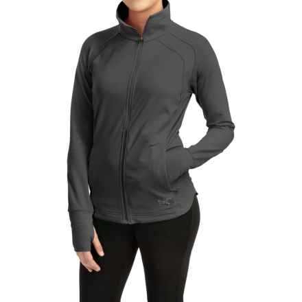 Arc'teryx Solita Jersey Jacket (For Women) in Black - Closeouts