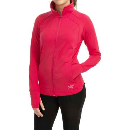 Arc'teryx Solita Jersey Jacket (For Women) in Pink Tulip - Closeouts