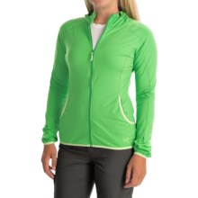Arc'teryx Soltera Hoodie Jacket - UPF 50, Full Zip (For Women) in Green Orchid - Closeouts