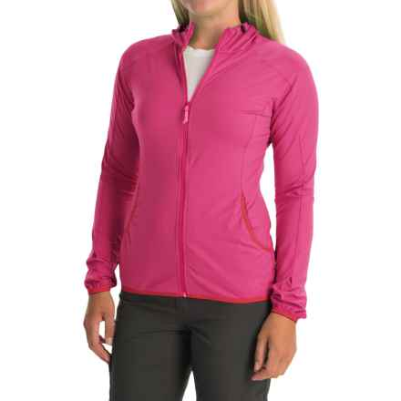 Arc'teryx Soltera Hoodie Jacket - UPF 50, Full Zip (For Women) in Pink Lotus - Closeouts
