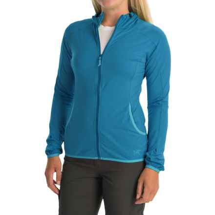 Arc'teryx Soltera Hoodie Jacket - UPF 50, Full Zip (For Women) in Santorini - Closeouts