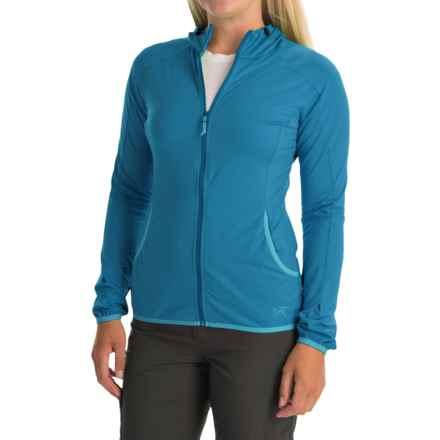 Arc'teryx Soltera Hoodie Jacket - UPF 50, Full Zip (For Women) in Santorini - Closeouts