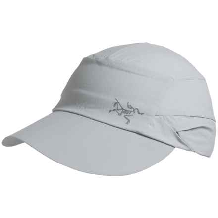 Arc'teryx Spiro Hat with Shade - UPF 50+ (For Men and Women) in Silver Lining - Closeouts