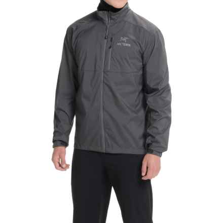 Arc'teryx Squamish Jacket (For Men) in Iron Anvil - Closeouts