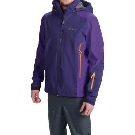 Arc'teryx Stingray Gore-Tex® Jacket - Waterproof (For Men) in Noche - Closeouts