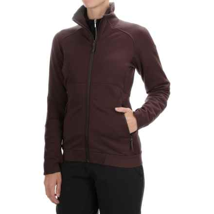 Arc'teryx Straibo Fleece Jacket (For Women) in Damson - Closeouts