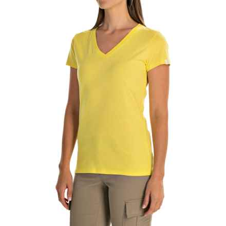 Arc'teryx Tall Timber T-Shirt - Short Sleeve (For Women) in Candied Lemon - Closeouts