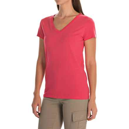 Arc'teryx Tall Timber T-Shirt - Short Sleeve (For Women) in Pink Guava - Closeouts