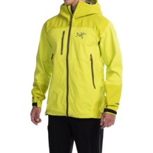 Arc'teryx Tantalus Gore-Tex® Hooded Jacket - Waterproof (For Men) in Venom - Closeouts