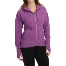 Arc'teryx Tarsa Hoodie - Full Zip (For Women) in Foxglove - Closeouts