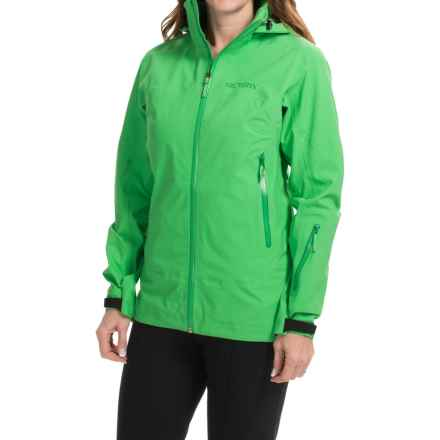 Arc'teryx Tempest Gore-Tex® Ski Jacket - Waterproof (For Women) in Lime Fizz - Closeouts