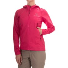 Arc'teryx Tenquille Hooded Jacket (For Women) in Vanda Orchid - Closeouts