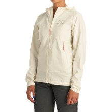 Arc'teryx Tenquille Hooded Jacket (For Women) in Vintage Ivory - Closeouts