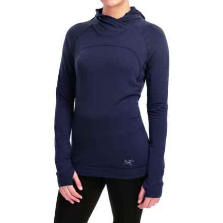 Arc'teryx Thaleia Polartec® Power Dry® Fleece Hoodie (For Women) in Marianas - Closeouts