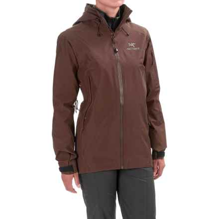 Arc'teryx Theta AR Gore-Tex® Jacket - Waterproof (For Women) in Black Willow - Closeouts