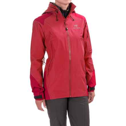 Arc'teryx Theta AR Gore-Tex® Jacket - Waterproof (For Women) in Pink Guava - Closeouts