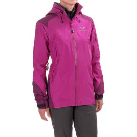 Arc'teryx Theta AR Gore-Tex® Jacket - Waterproof (For Women) in Violet Wine - Closeouts
