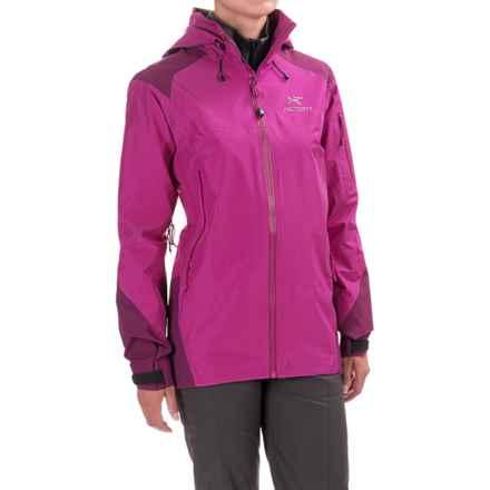 Arc'teryx Theta AR Gore-Tex® Jacket - Waterproof (For Women) in Violet Wine - Closeouts