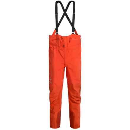 Arc'teryx Theta SV Gore-Tex® Bib Pants - Waterproof (For Men) in Chipotle - Closeouts