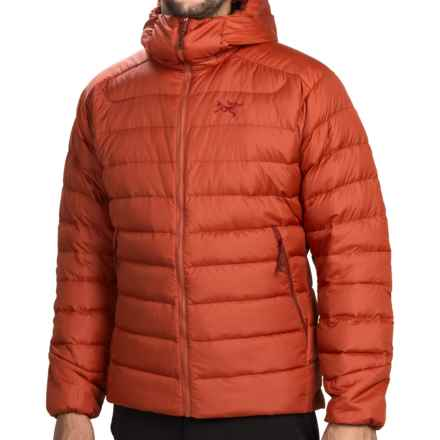 Arc'teryx Thorium AR Hooded Down Jacket - 750 Fill Power (For Men) in Chili Pepper - Closeouts