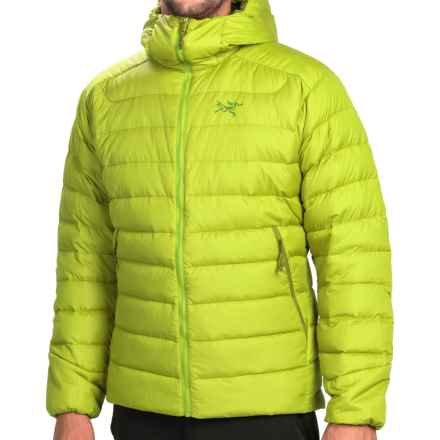 Arc'teryx Thorium AR Hooded Down Jacket - 750 Fill Power (For Men) in Mantis Green - Closeouts