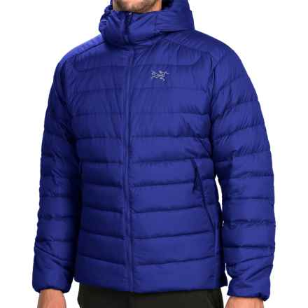 Arc'teryx Thorium AR Hooded Down Jacket - 750 Fill Power (For Men) in Tropos Blue - Closeouts