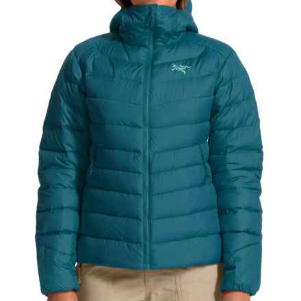 Arc'teryx Thorium AR Hooded Down Jacket - 750 Fill Power (For Women) in Cyan Blue - Closeouts