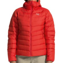 Arc'teryx Thorium AR Hooded Down Jacket - 750 Fill Power (For Women) in Firefly - Closeouts