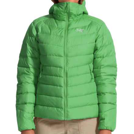 Arc'teryx Thorium AR Hooded Down Jacket - 750 Fill Power (For Women) in Lime Fizz - Closeouts