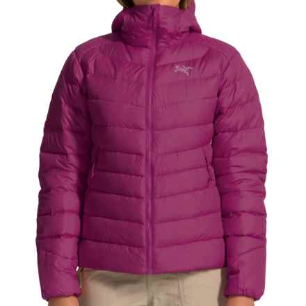 Arc'teryx Thorium AR Hooded Down Jacket - 750 Fill Power (For Women) in Lt Chandra - Closeouts