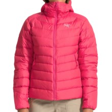 Arc'teryx Thorium AR Hooded Down Jacket - 750 Fill Power (For Women) in Pink Guava - Closeouts
