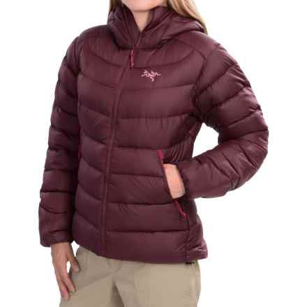 Arc'teryx Thorium SV Down Jacket - 750 Fill Power (For Women) in Cherrywine - Closeouts