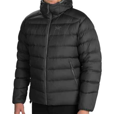 Arc'teryx Thorium SV Hooded Down Jacket - 750 Fill Power (For Men) in Black - Closeouts
