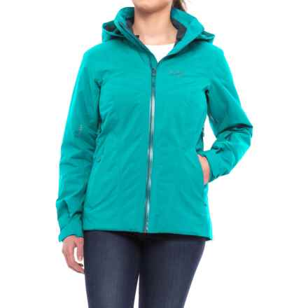 Arc'teryx Tiya Gore-Tex® Jacket - Waterproof, Insulated, RECCO® (For Women) in Cerulean - Closeouts