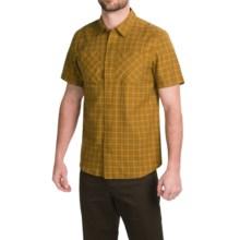 Arc'teryx Tranzat Shirt - Short Sleeve (For Men) in Golden Palm - Closeouts